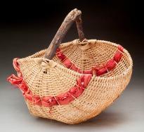 Drift Wood handled Melon Basket