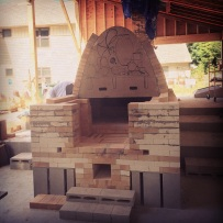 End of day nine, hard brick arches are almost complete