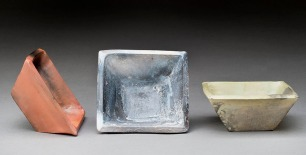 Saw Dust Fired Bowls